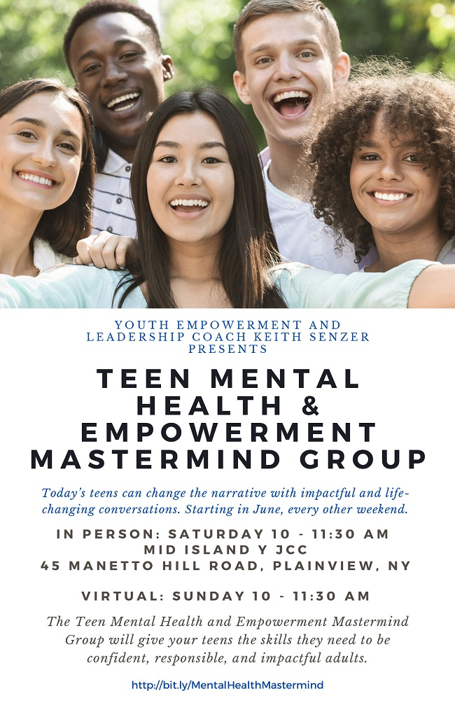 Teen Mental Health & Empowerment Mastermind Group